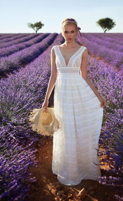 Свадебное платье в «греческом» стиле