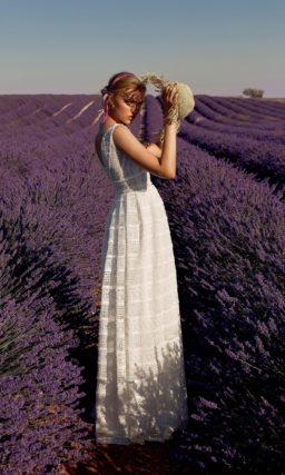Необыкновенное свадебное платье в греческом стиле