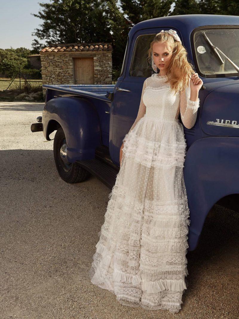 Свадебное платье «бохо»