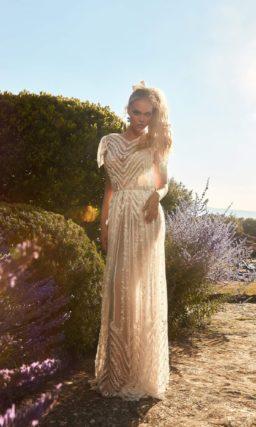 свадебное платье для яркой необычной красавицы