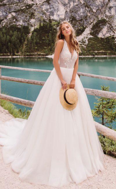 Свадебное платье в стиле «хиппи»