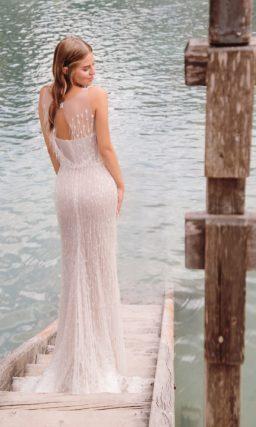 свадебное платье с эффектным силуэтом «русалка»
