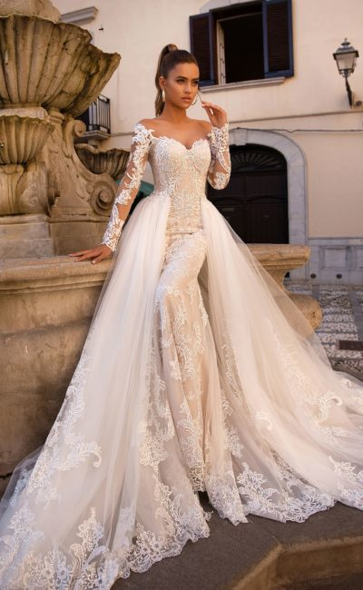 669c81c04e4ed41 Самые красивые свадебные платья: 100 лучших фото | Свадебный салон ...
