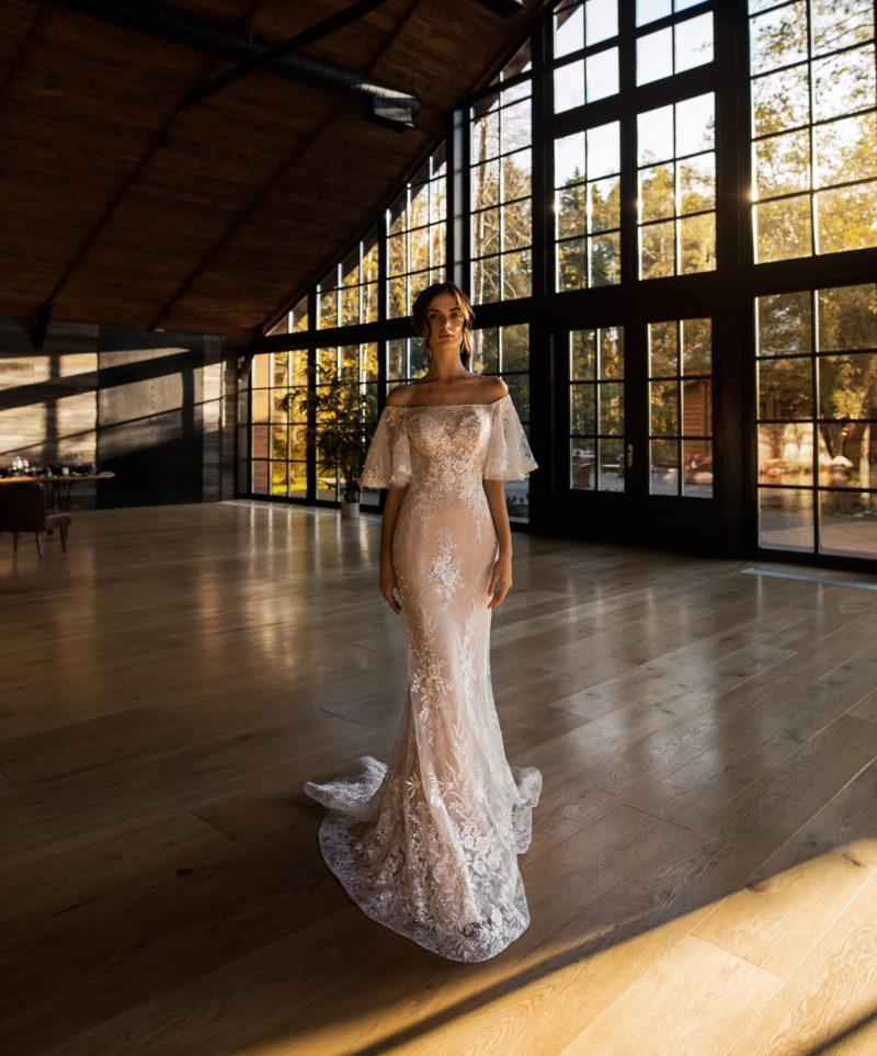свадебное платье с соблазнительным силуэтом «русалка»