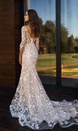 Свадебное платье в стилистике nude
