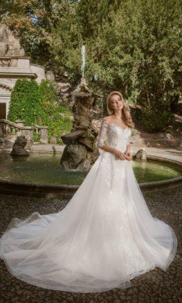Свадебное пышное платье-трансформер