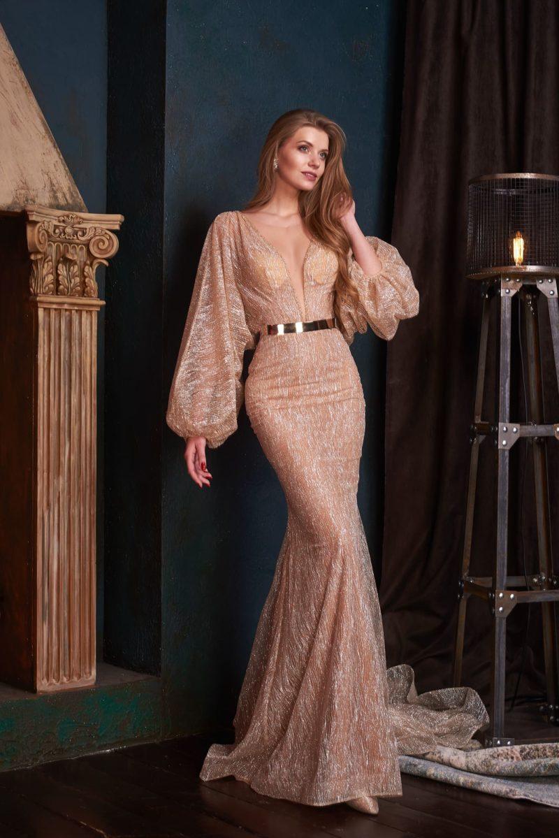 вечернее платье «русалка»