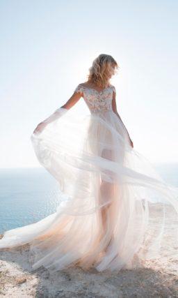 Стильное свадебное платье-трансформер