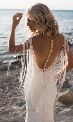 Свадебное платье с «русалочьим» силуэтом