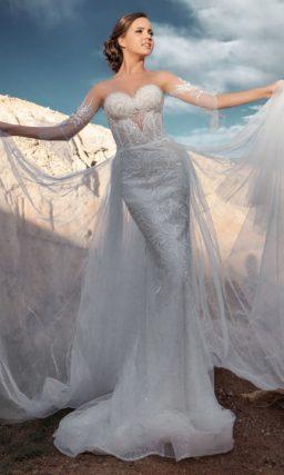 Платье-трансформер силуэта «русалка»