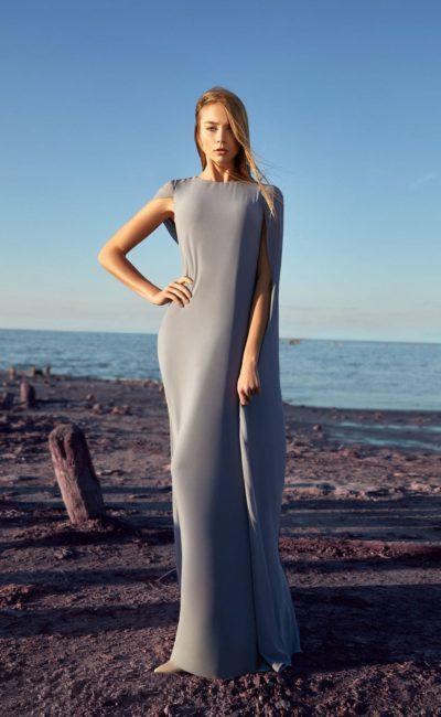 Платье прямое длинное