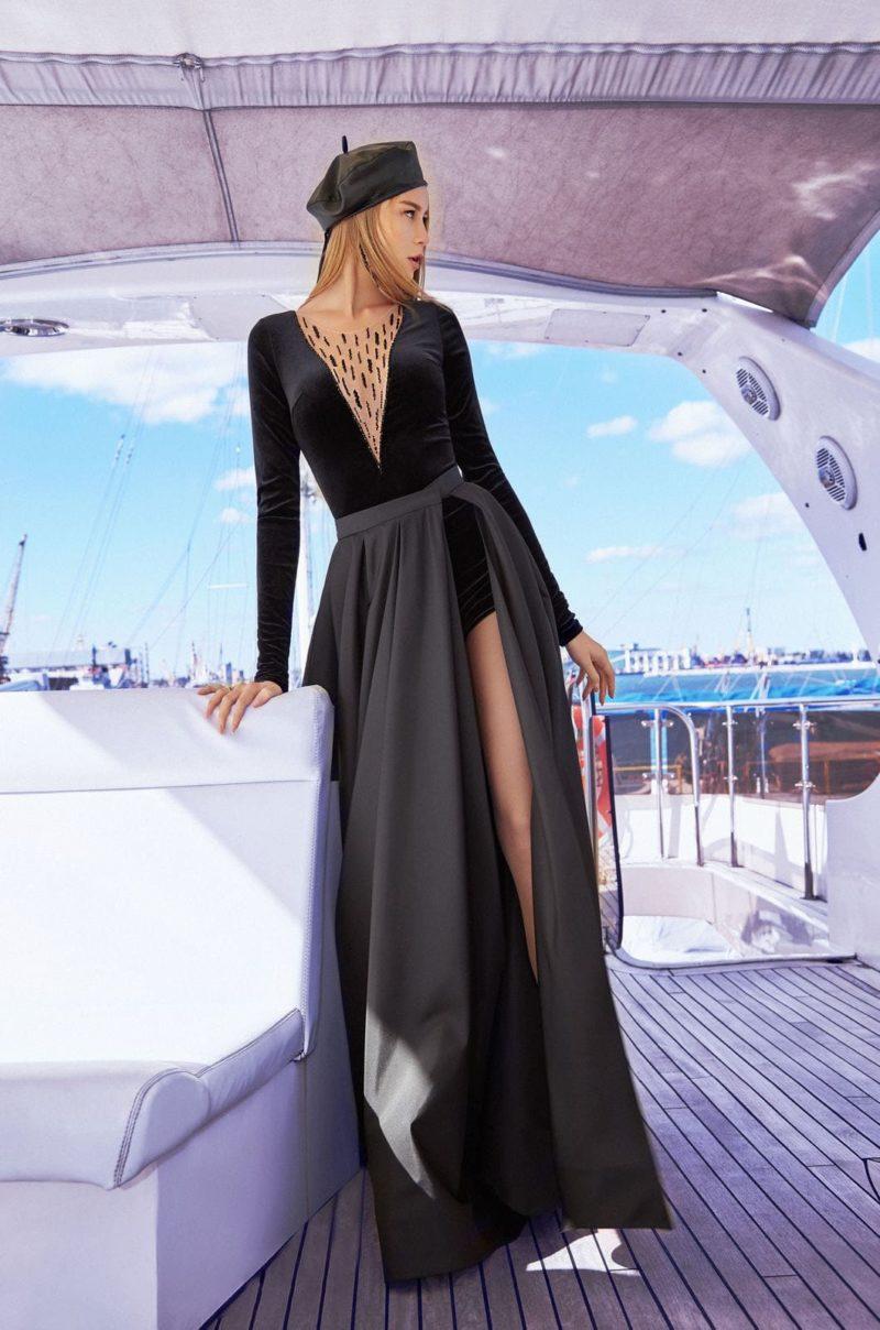Стильное вечернее платье-трансформер