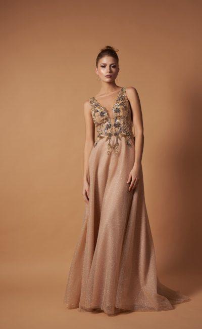 Платье в пол на свадьбу