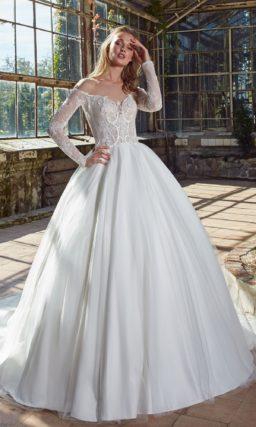 Платье истинной принцессы – нежное и изящное