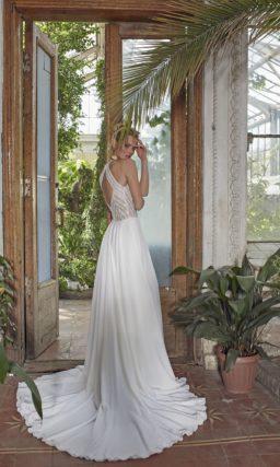 Платье: Гипюровый лиф с американской проймой