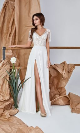 Свадебное летнее платье