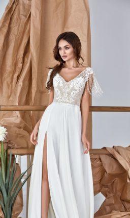 Минималистичное платье прямого кроя