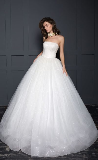 Пышное платье свадебное