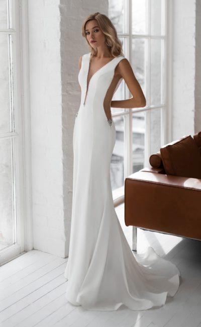 Платье русалка в европейском стиле