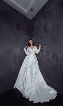Платье на невесту с полной фигурой