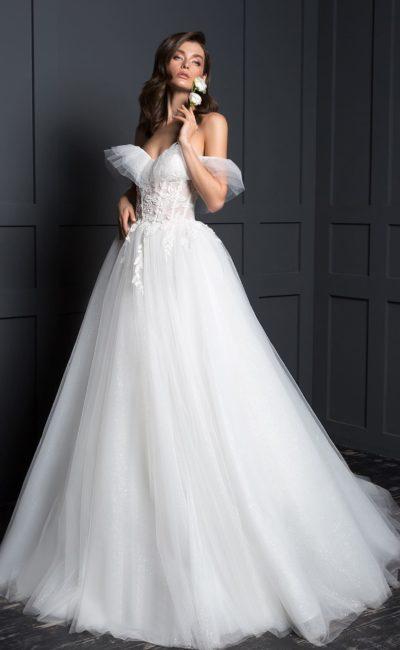 Пышное воздушное платье