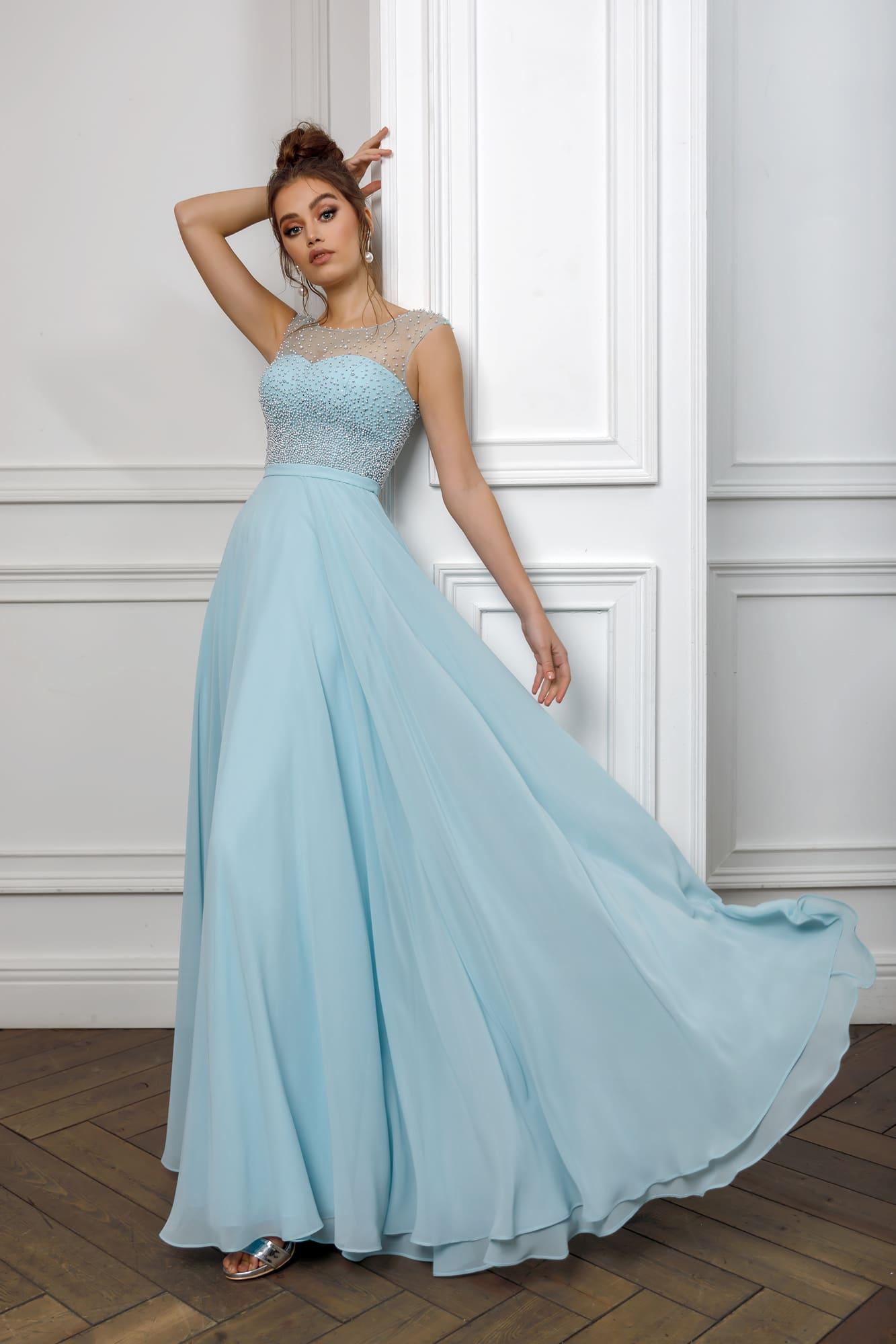 6ae19a64411  product vechernie-platya 32405b-ivory  product vechernie-platya 32405b-sky- blue. Nora Naviano ...