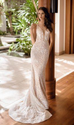 чувственное свадебное платье «русалка»