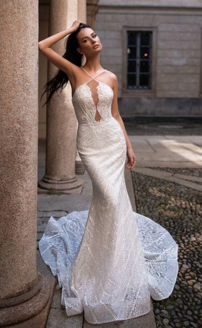 Утонченное свадебное платье-рыбка