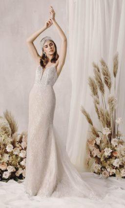 Кружевное свадебное платье Кхалиси