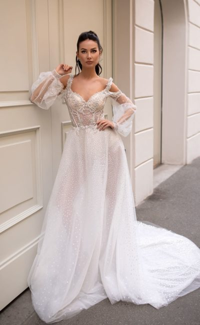 Свадебное платье восточного стиля