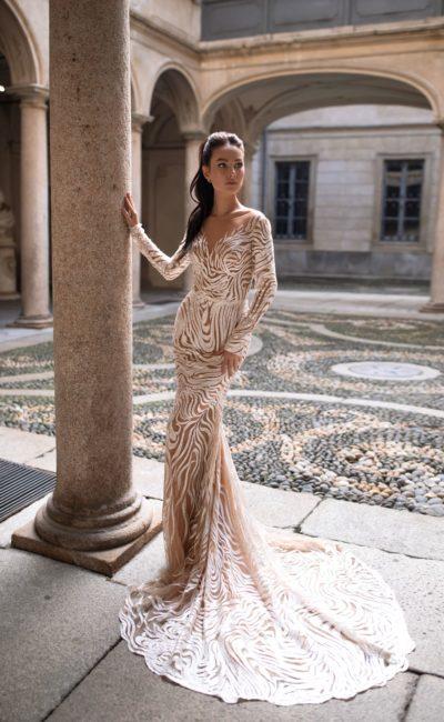 Свадебное красивое платье-трансформер «русалка»