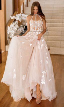 Смелое и соблазнительное свадебное платье
