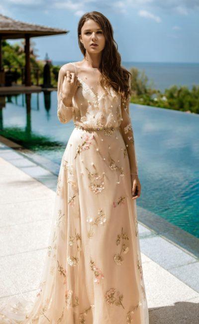 Легкое свадебное платье-трансформер