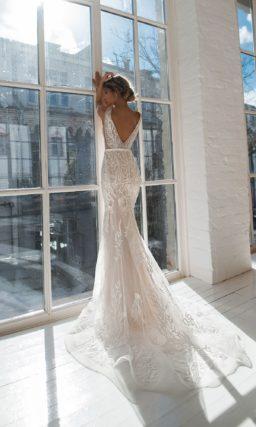Стильное платье русалка