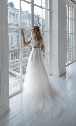 чувственное свадебное платье
