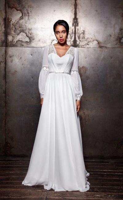 Ампирное платье в стиле бохо