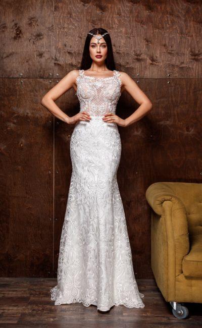 Кружевное платье «рыбка»