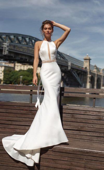 Модное свадебное платье русалка