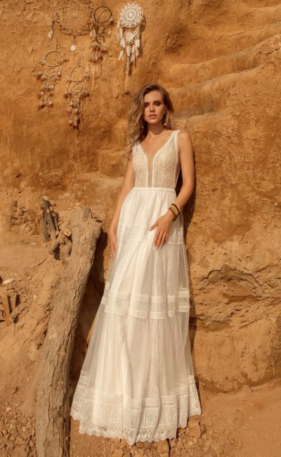 свадебное платье в бельевом стиле