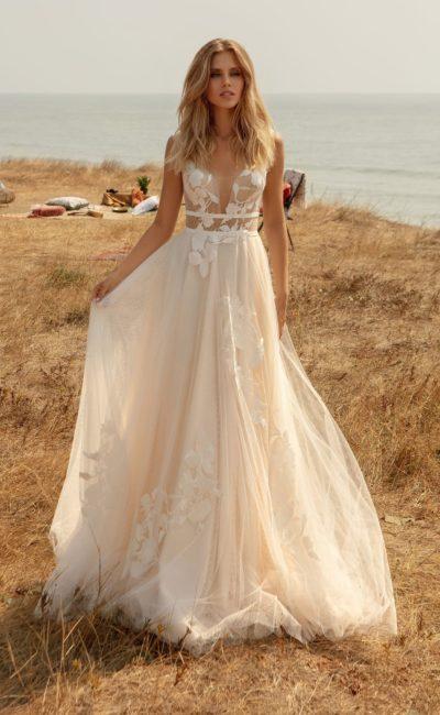Свадебное платье в «бохо-шик» стиле