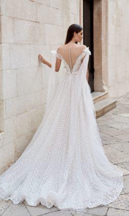 свадебное платье с изысканным дизайном