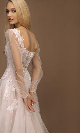 Легкое пышное свадебное платье
