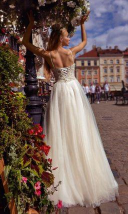 Летнее свадебное платье