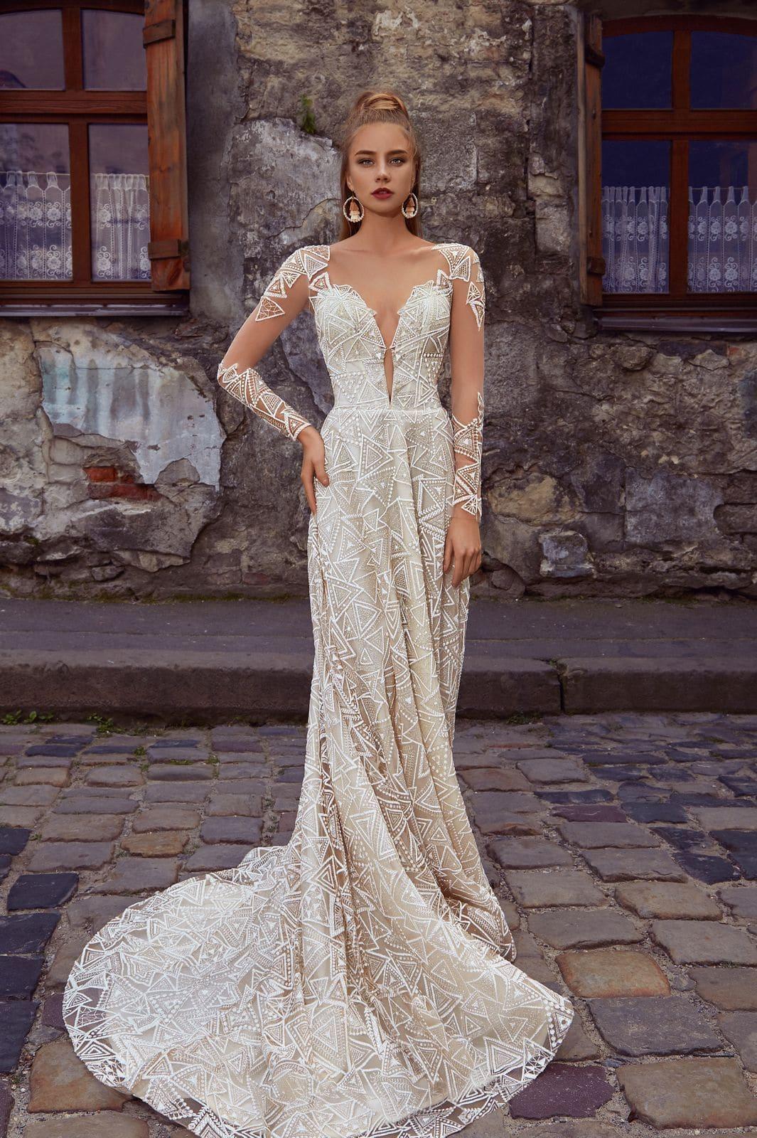 очень стильные свадебные платья фото отличие профессиональных визажистов