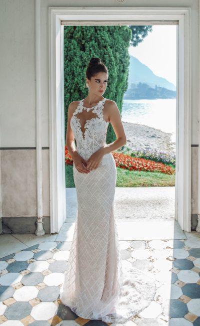 Платье русалка с необычным верхом