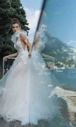 легкое свадебное платье русалка