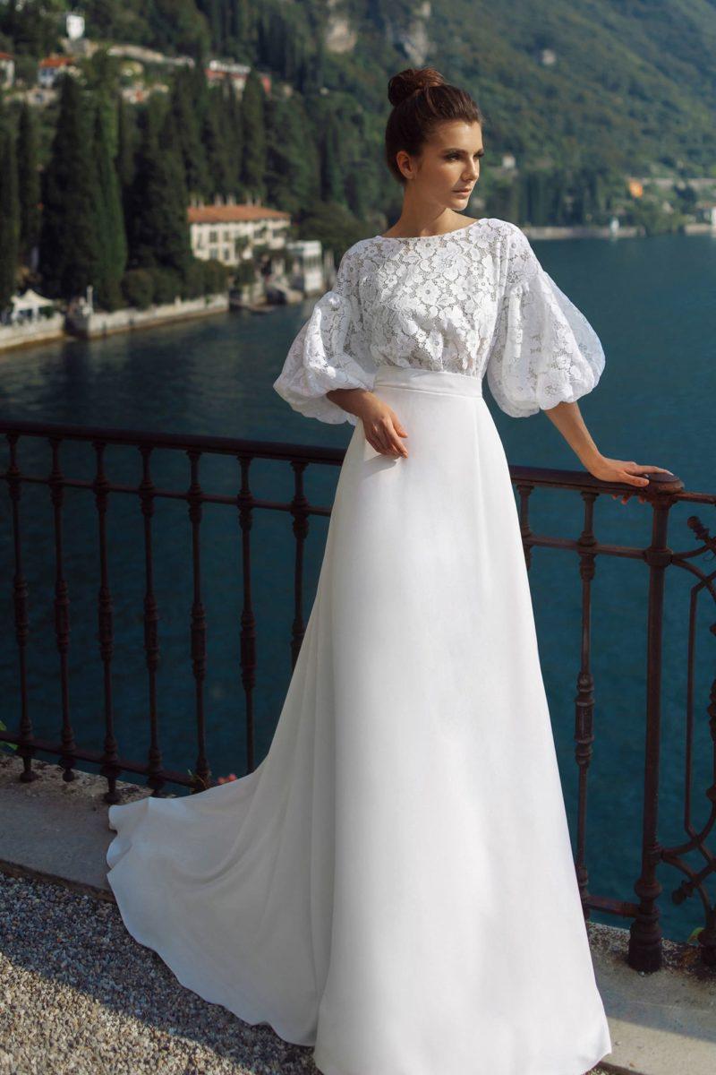 Свадебное платье ретро в стиле 80-x