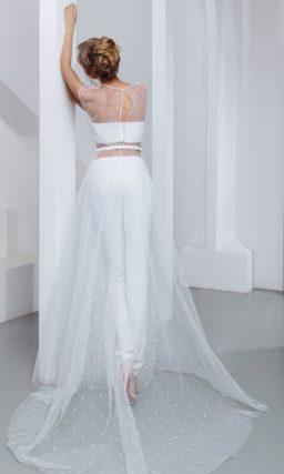 Свадебный костюм с жакетом