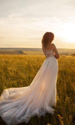 Платье рыбка свадебное в стиле бохо