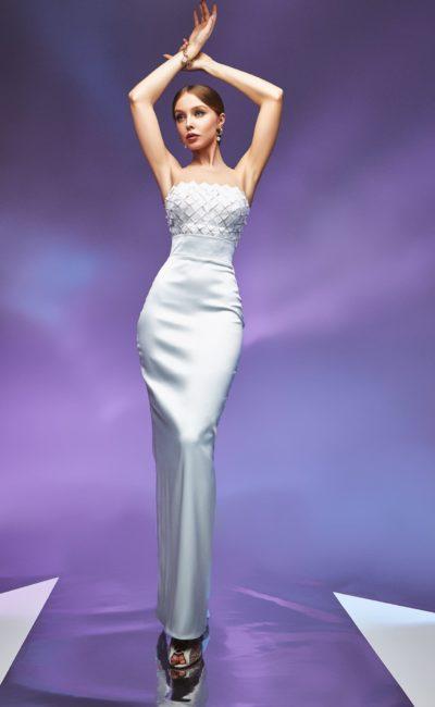 Свадебный платье силуэта русалка